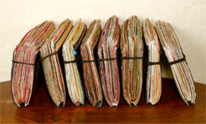 Flickr image of journals by Barry Silver