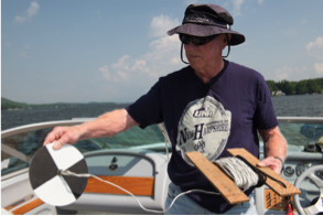 The Cooperative Extension system has a long-standing tradition of sponsoring citizen science efforts such as the New Hampshire Lakes Lay Monitoring Program. Photo credit: UNH Cooperative Extension